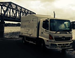Film Silenced Generator Truck - 150kva